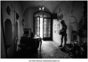 Spöktema på ett slott i Stockholms området