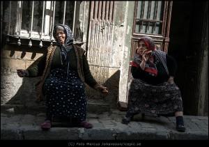Härliga tjejer i Istanbul
