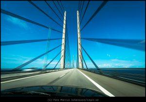 På väg över Öresundsborn