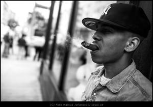 Cigar on the corner