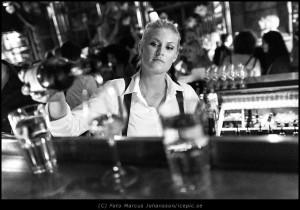 Bartender med värdighet