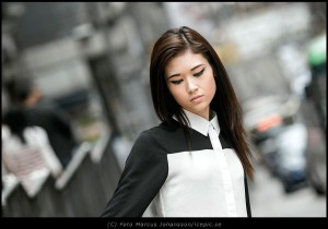 Claire in HK