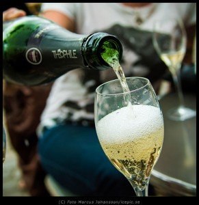 Champagne i Paris