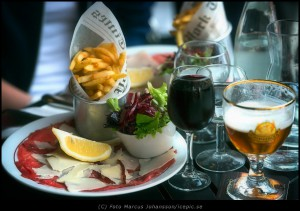 Lunch i Paris