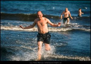 Kallt i vattnet...