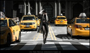 New York model shoot by icepic.se