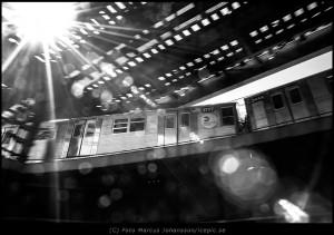 High line subway Brooklyn