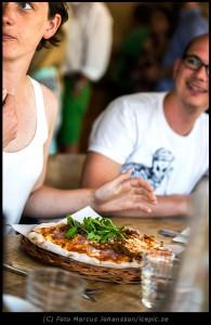 Pizza på Söderberg & Sara
