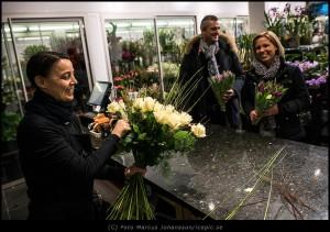Blomsterbutik på Avenyn