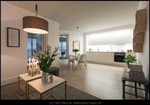Lägenheter på uppdrag av Wallenstam i Göteborg