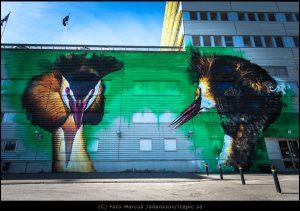 Graffiti Artister Dopie & Clyde