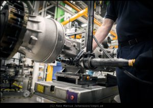 Avlastningsverktyg från Techneo på Volvo Eskilstuna