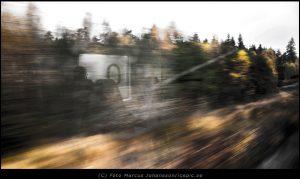 Reser norr ut med tåg