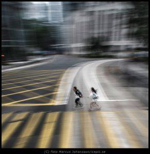 Hong Kong Street from Tram